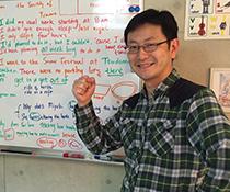 英会話教室での写真003 レッスン中に撮りました。