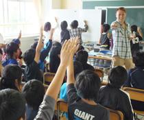 英会話教室での写真007 学校での授業風景です。