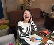 英会話教室での写真016 レッスン中に撮りました。