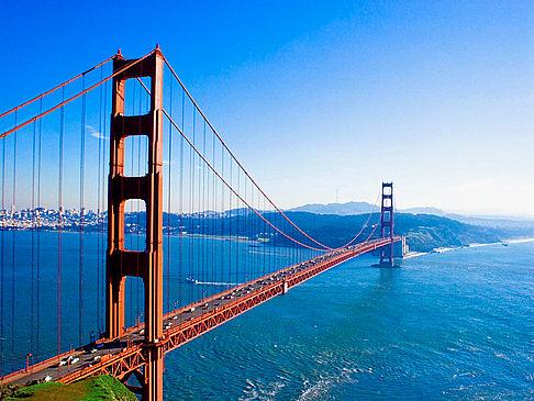 サンフランシスコ ゴールデンゲートブリッジの写真