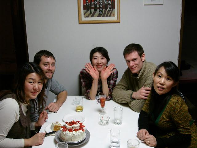英会話でお友達とパーティ。