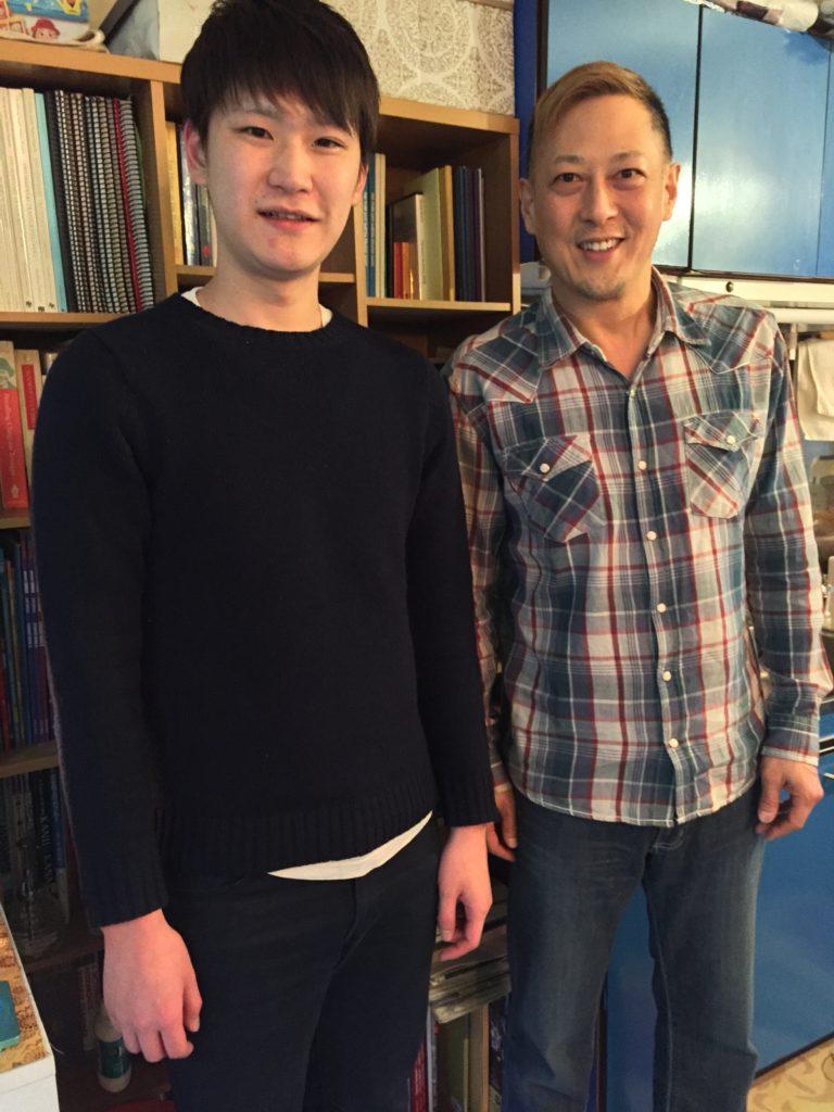 英会話レッスンの生徒さんと撮りました。