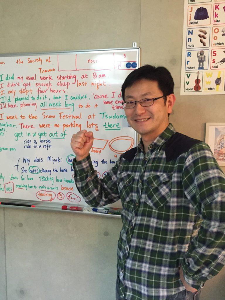 英会話の生徒さんです。